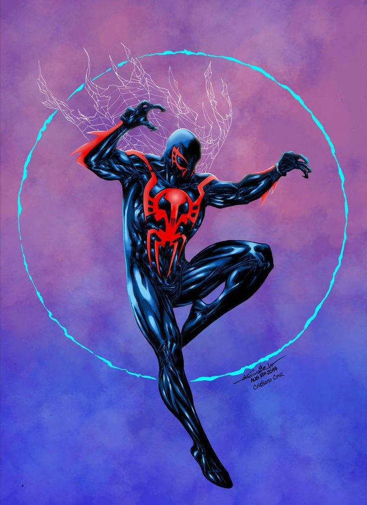 Spider-man 2099 - Crisstiano Cruz Colors by SpiderGuile ...