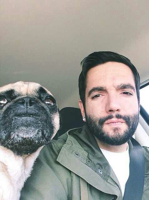 Jeremy McKinnon and his cute baby:)