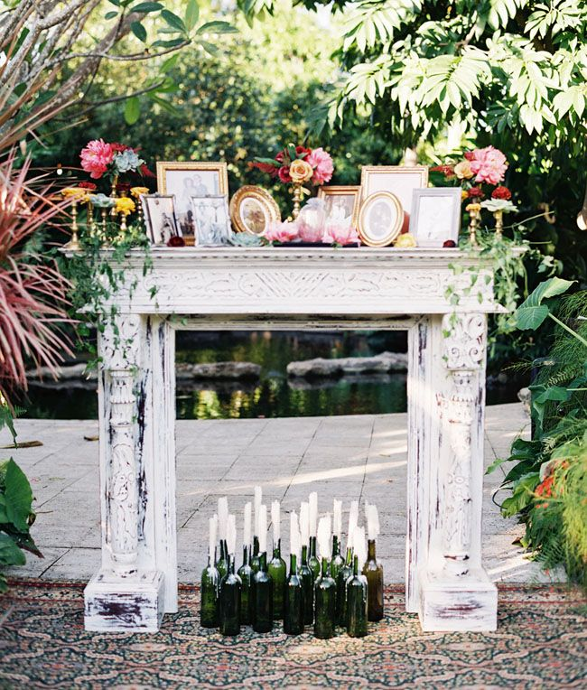 Unique Alternative Ideas For Decorating The Altar For A: Best 25+ Wedding Mantle Ideas On Pinterest