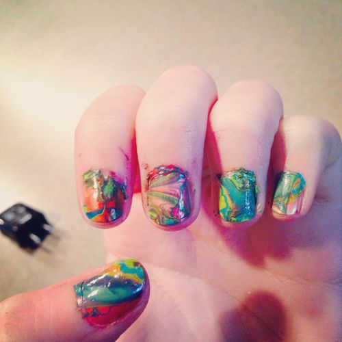 Water Marble Nails Pictures, Photos, and Images for Facebook ...