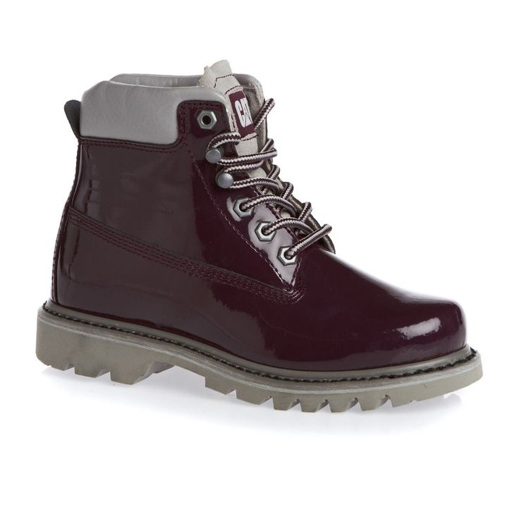 Caterpillar Bruiser Boots - Burgundy | Free UK Delivery and Returns