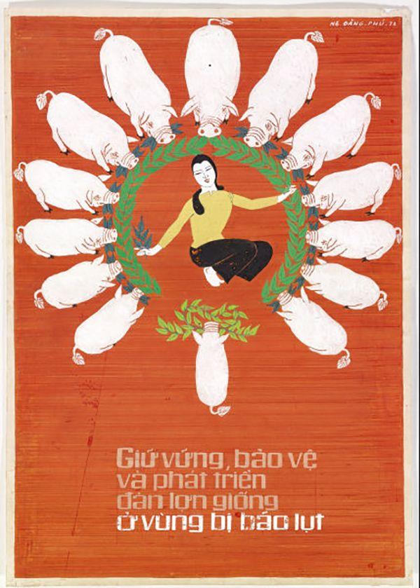 Vietnamese propaganda posters 1954 2000