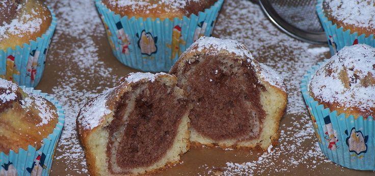 Biało-brązowe, czyli łaciate muffinki - main