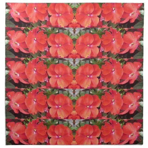 CherryHILL Flower Show Row Garland NVN218 NavinJOS Napkins