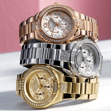 Rise to the Occasion in Rose Gold | GUESS Watches