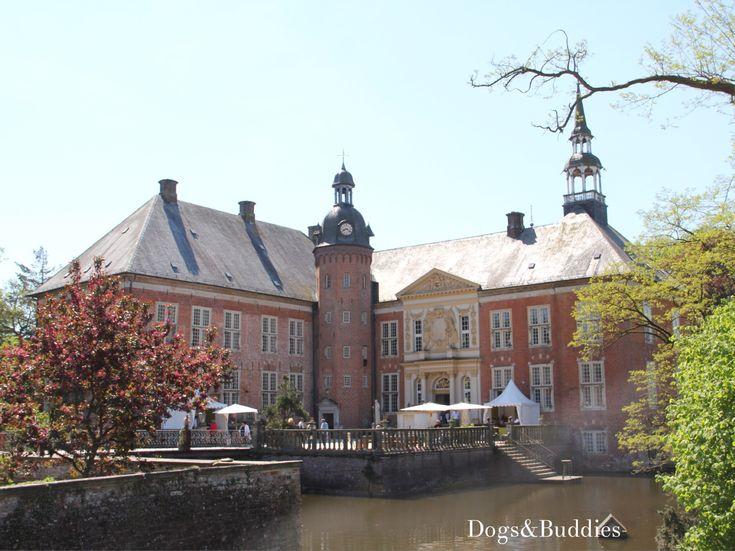 Trend Landpartie Schloss G dens bei Sande Niedersachsen Ausflug mit Hund Landpartie Wasserschloss OldenburgDogsDestinationsGermany