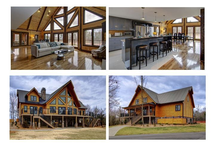 Timber Block 39 S Model Home Near Hickory Nc Is Based On A