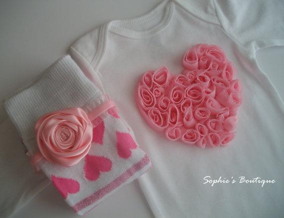 Fabric heart shirt, easy to make!