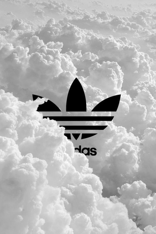 My two favorite things in one picture! Adidas and Clouds! #bittersweet: