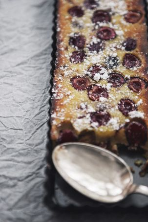... Clafoutis on Pinterest | Cherry clafoutis, Cherry tomatoes