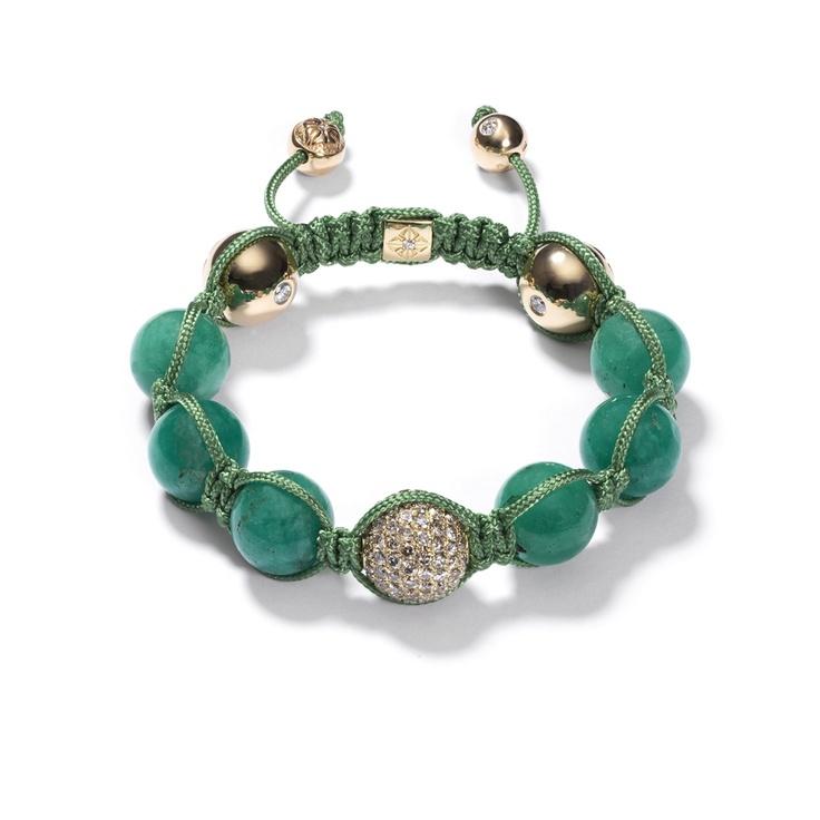 shamballa - Colombian Emeralds Bracelet