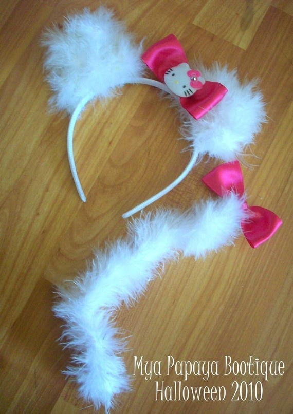 Hello Kitty Headband with ears