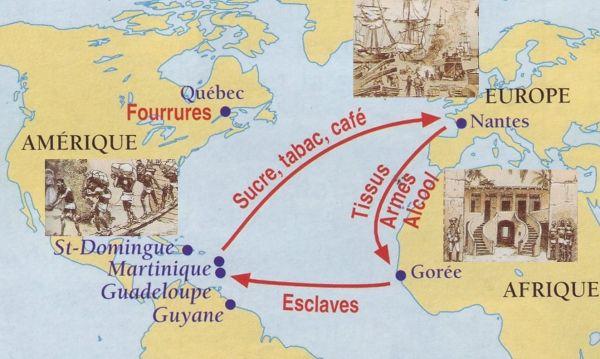 Le commerce triangulaire, par Maelle 7 ans