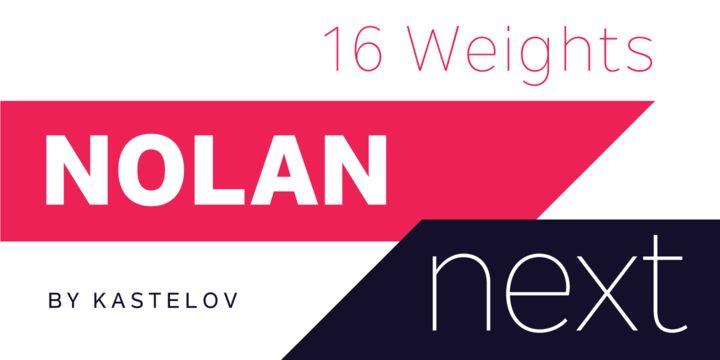 Nolan Next - Webfont & Desktop font « MyFonts