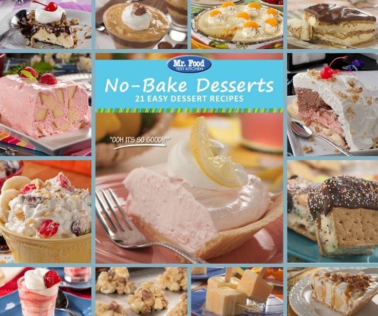 No Bake Desserts Free eCookbook | MrFood.com