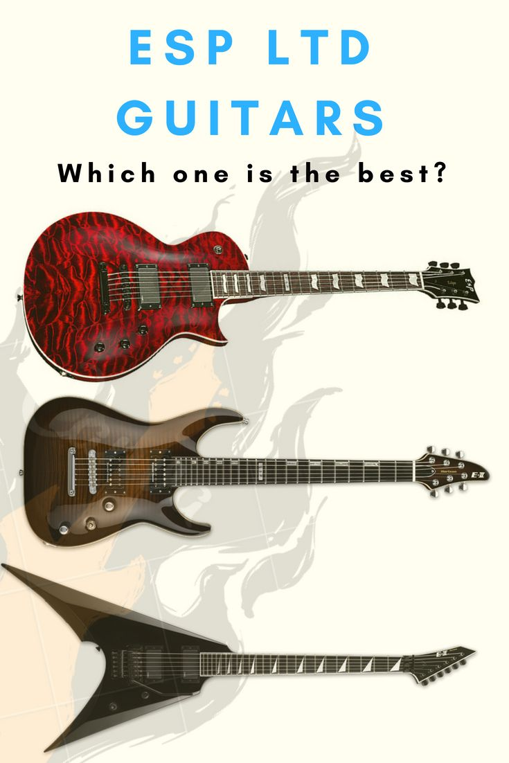 Esp Ltd Guitars Great Metal Machines But Which One Is The Best Guitar Guitar Reviews Classic Guitar