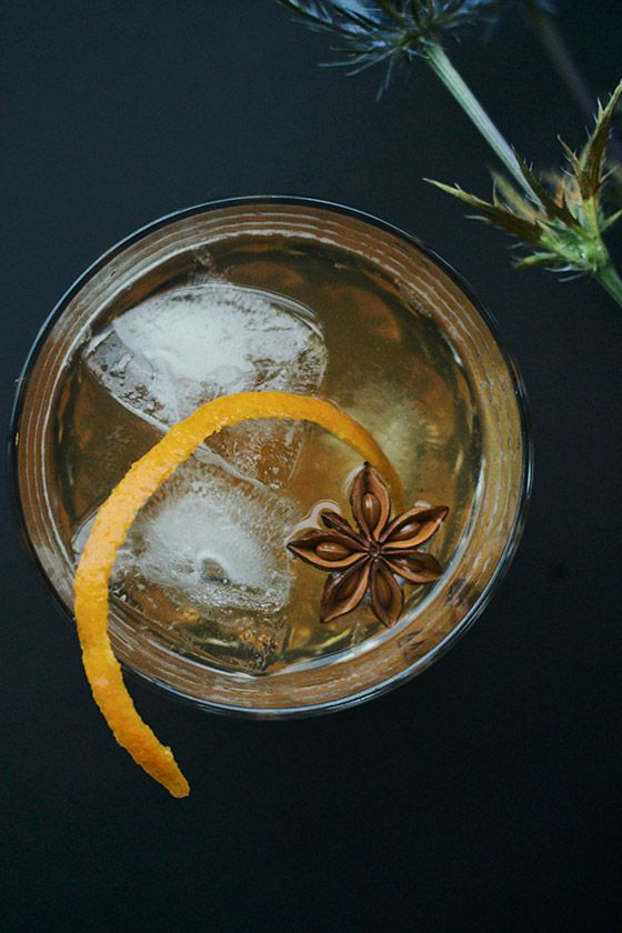 MIXOLOGY: Chai Honey Old Fashioned
