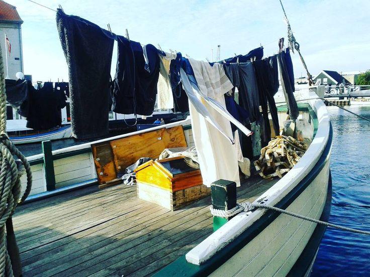 Laundry day. Christianshavns Copenhagen.