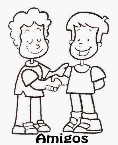 Imagenes del respeto para colorear el respeto para dibujar animado