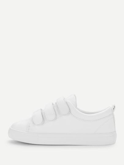 6ace813b379c Velcro Detail Low Top Sneakers