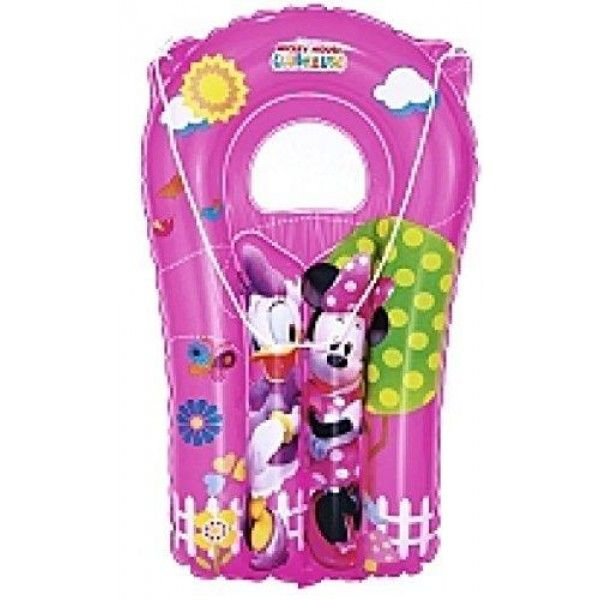 Disney minnie mouse & daisy duck inflatable surf rider / pool float - pink