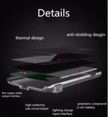 Ultra Thin External Backup Battery Pack Case For iPhone 6/6S 6/6S Plus Rechargeable Power Case