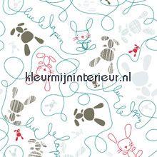 Little Ones 42083 Noordwand doodle scribble carta da parati kleurmijninterieur.nl