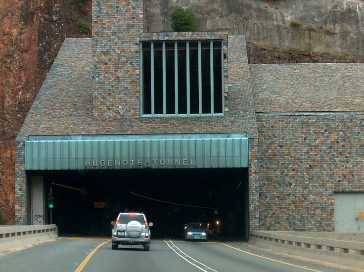 Huguenot Tunnel, near Paarl  I tried holding my breath like you do here in the US. Couldn't do it. Too long! What a feat of engineering! JB