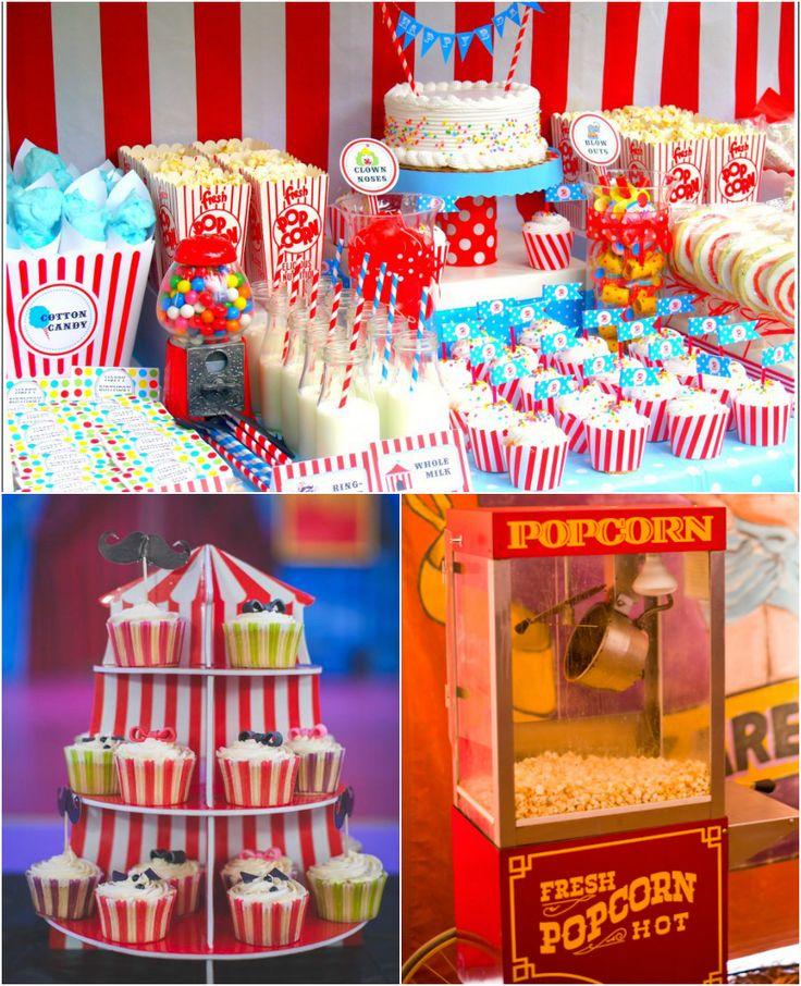Candy bar circus