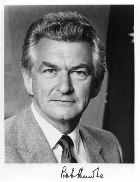 Bob Hawke  Former Prime Minister