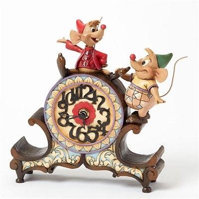 Disney tradition - Jaq and Guz Clock