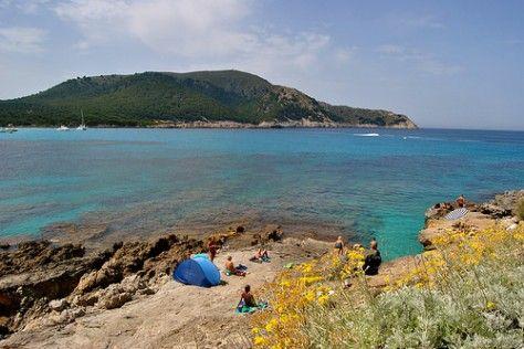 Paseando de Cala Agulla a Cala Lliteras. | Una Arjonera en Mallorca