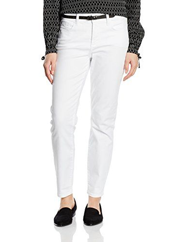 8dfc81a7cc47c NYDJ Ankle Jeans Femme Blanc (Optic White) 42  L28   Jeans femme in 2018    Pinterest   Ankle jeans, Jeans and Ankle