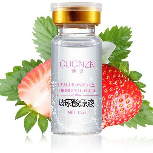 4Pcs CUCNZN Pure Hyaluronic Acid Liquid Face Skin Care Lotion