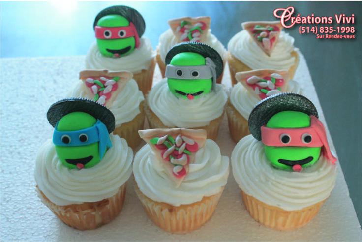 Cupcakes Ninja tutles
