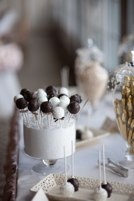 Our Classic Lollicakes as part of a dessert table