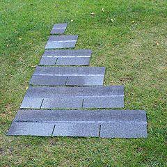 Set of row-starter shingles.