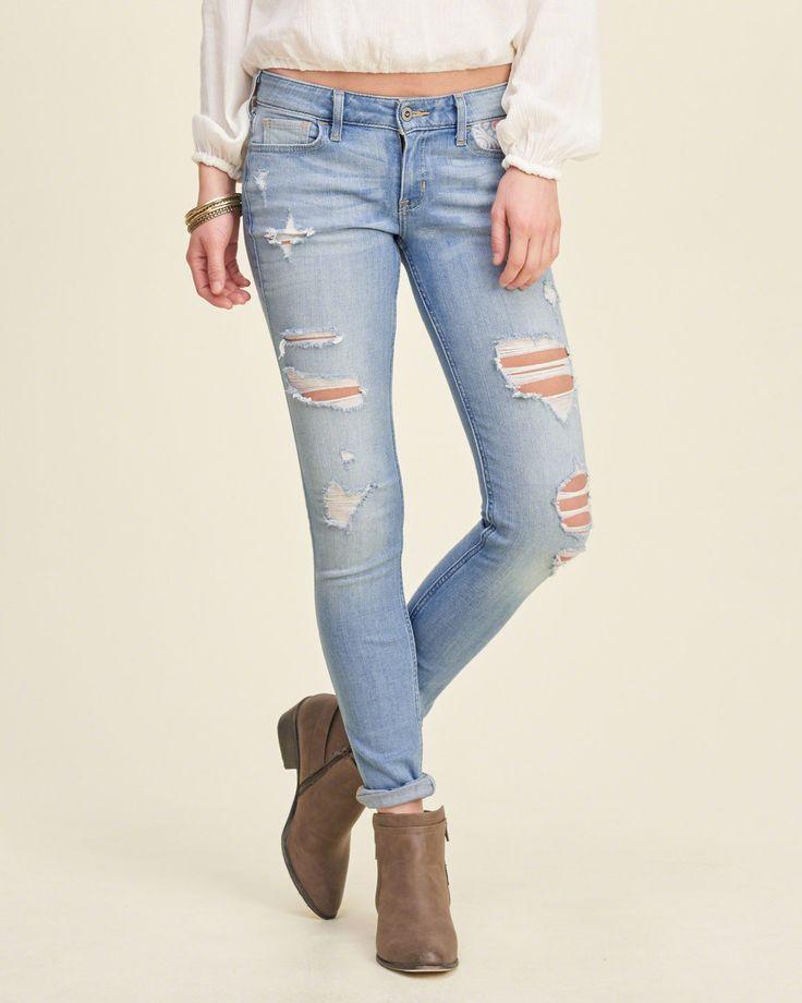 Girls Hollister Super Skinny Jeans | Girls Bottoms ...