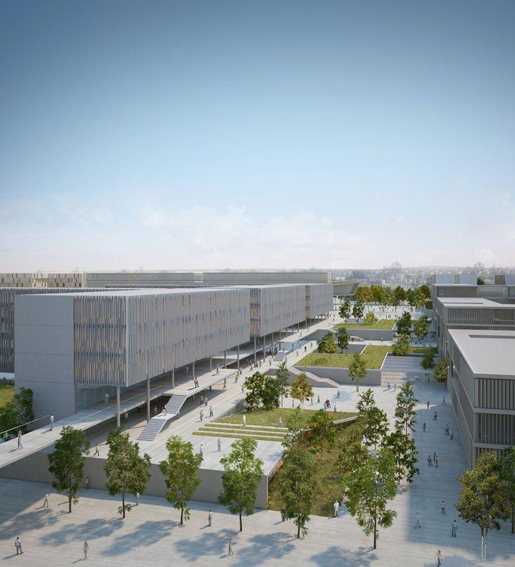 Gallery - BGU University North Campus Master Plan / Chyutin Architects - 6