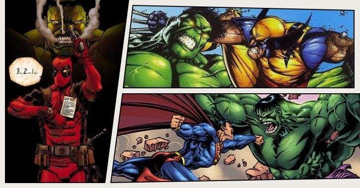 Não é novidade que o Hulk já derrotou muitos super-heróis. No entanto, nem sempre o Gigante Esmeralda sai vencedor. A fúria de Bruce Banner é tão fatal que até heróis de outras editoras foram chamados para tentar impedir que o Hulk causasse muita destruição. Confira10 super-heróis que já derrotaram o Incrível Hulk!