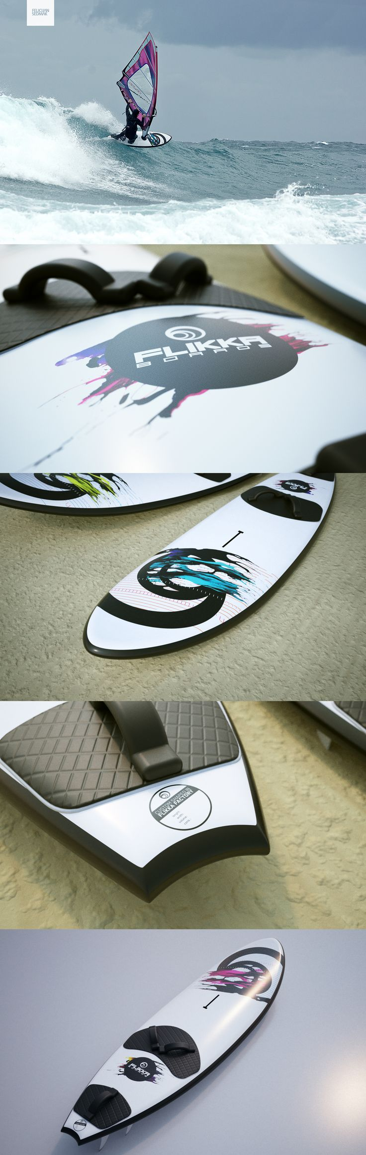 Flikka Board Design #Windsurf #Boards