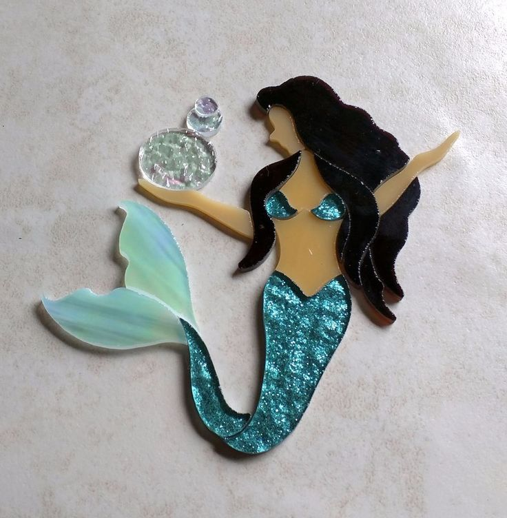 Original designs & Handmade by #RachelKratzer Ready to be added to your mosaic seascape.