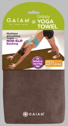 Amazon.com: Gaiam Grippy Yoga Towel: Sports & Outdoors