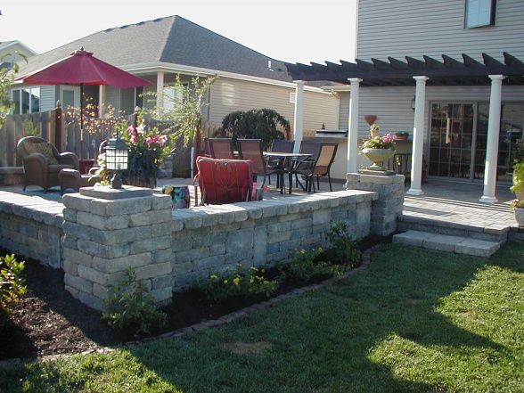 backyard patio ideas on a budget | Casa Campana, Our dream Tuscan backyard. We worked on a budget and did ...