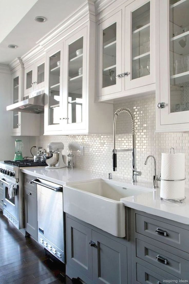 Painted kitchen cabinet ideas before and after and pics of kitchen