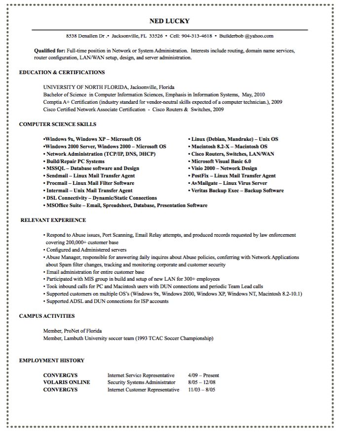 44 best Business Letters \/ Communication images on Pinterest - network administrator resume