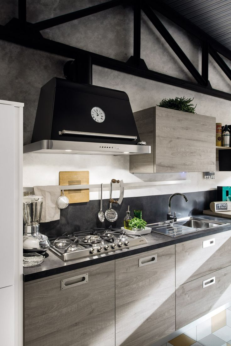 Cucina moderna Gicinque in finitura rovere Marino  #cucina #cucine #kitchen #kitchens #modern #moderna #gicinque #cucinaoslo #oslo www.gicinque.com/...