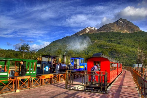 End of the world train - Usuahia - Argentina- took it, was used for prisoners originally to work in the forest and cut wood.
