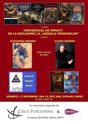"""Recenzii Beletristica: FANTASTICUL DE IMPACT: DE LA GHILGAMEȘ LA """"URZEALA..."""