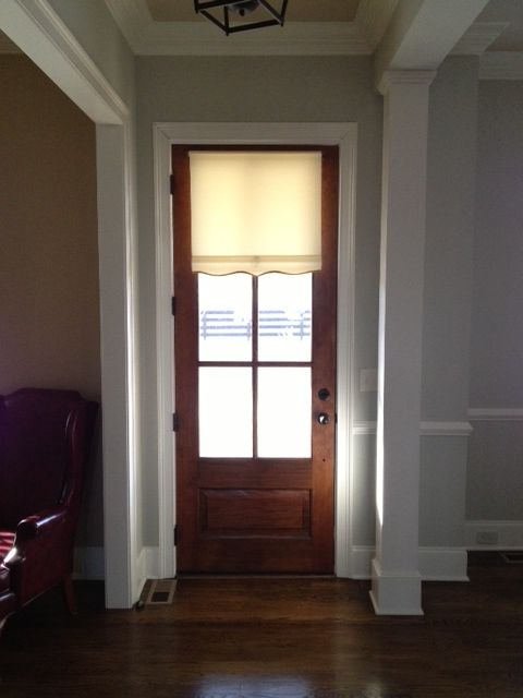 Classic Front Door And Cotton Shade Classic Craftsman